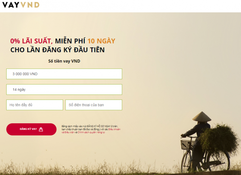 VAY VND – Thêm một sự lựa chọn vay tiền online chất lượng
