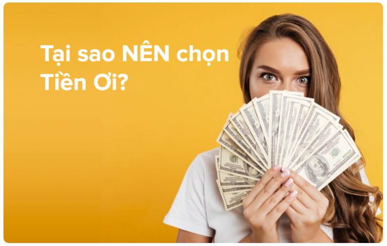 Tiền Ơi – Vay tiền dễ mà nhanh, hạn mức tối đa đến 10 triệu đồng